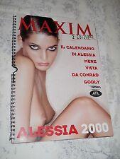 Calendario Maxim 2000 Alessia Merz vista da Conrad Godly