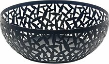 Alessi 29 cm Cactus Fruit Bowl, Black