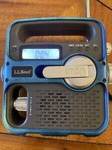Eton L.L.Bean Solarlink FR360 Local weather & emergency notif. AM/FM solar crank