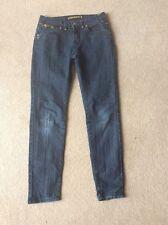 Girls Age 13 Dark Blue New Look Denim Jeans