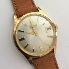VTG  EARLY 1960's  ELGIN 17J WRISTWATCH CALIPER 315 SWISS MANUAL WIND WATCH RUNS