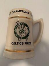 Boston Celtics Vintage 1980-81 NBA World Champions Beer Mug Stein