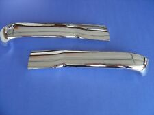 1956-56 CHEVROLET BEL AIR 210 150 HOOD BAR EXTENSIONS-TRIM PARTS-USA MADE