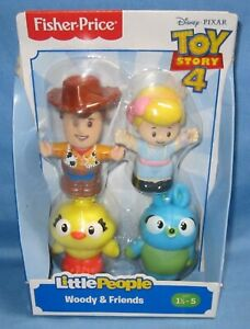 Fisher Price ~ Disney Pixar ~ Little People ~ Toy Story 4, Woody & Friends