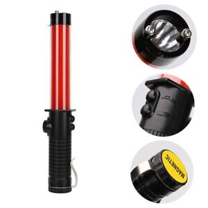 Flashlight Led Torch Lantern Traffic Red Outdoor With Wristband Waterproof 1pc