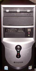 E-System Ei106/206/306 Celeron 3.46GHz CPU - 2GB RAM - 150GB HD -Windows 8.1 Pro
