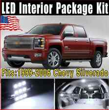 18X Pure White SMD COB LED Conversion Package Kit 1999-2006 For Chevy Silverado