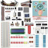 Sunfounder Project Super Starter Kit For Raspberry Pi 3, 2 and Model B+ W/ GPIO