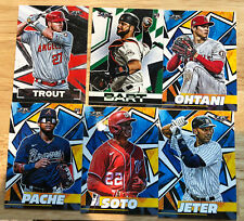 2021 Topps Fire Baseball - RCs & Vets - #1-200 -- You Pick! Complete Your Set!
