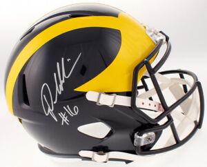 Denard Robinson Signed Michigan Wolverines Full-Size Speed Helmet (JSA COA)