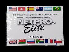 2003 Netpro Elite Factory Set Blue Logo Federer Nadal Serena PSA BGS $5000+ 1585