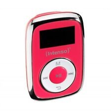 Intenso Music Mover 8GB pink MP3-Player Musikplayer Micro-SD Karten Slot Musik