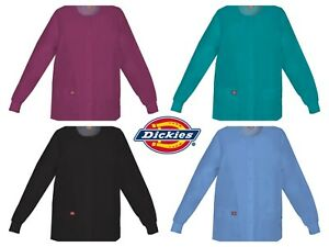 New EDS SIGNATURE Modern Classic Dickies Snap Front Warm-Up Jacket  #86306