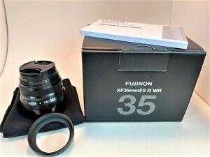 Fujifilm Fujinon XF 35mm F/2.0 R WR Lens *Excellent Condition* With Box