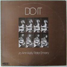 JO ANN KELLY & PETER EMERY DO IT UK FOLK LP on RAG REG LABEL NICE COPY!  SIGNED!