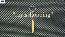 Gold Bullet Secret Stash Scoop Spoon Keyring Key Ring Container Hidden Safe Pill