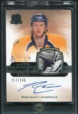 2011-12 Cup RYAN ELLIS Nashville Predators Autograph Patch Rookie /249 top patch