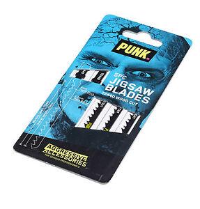 PUNK® Wood Cutting Jigsaw Blades (5 Pack) T244D *Authorised Distributors*