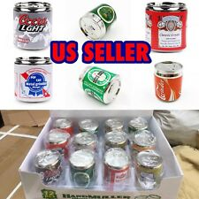 "NEW🔥 Beer Pop CAN 2"" , Tobacco Herb Grinder,4 Parts, Random Style!"