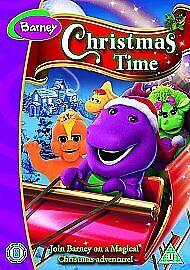 Barney - Barney's Christmas Time (DVD, 2008)b/n sealed