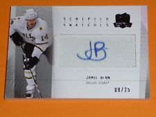 09-10 The Cup Scripted Swatches Jamie Benn RC Auto Patch 8/25 RARE ROOKIE L@@K!