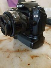Nikon D D90 12.3MP Digital SLR Camera + af nikon 35-70 mm dx fx Lens + grip