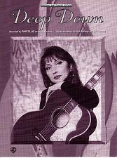DEEP DOWN Music Sheet-1995-WALT ALDRIDGE/JOHN JARRARD-PAM TILLIS-Country/Western