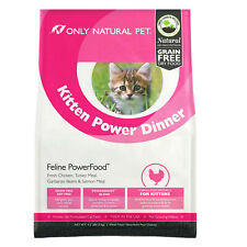 New listing Only Natural Pet Kitten Power Dinner / Natural Grain Free Dry Food