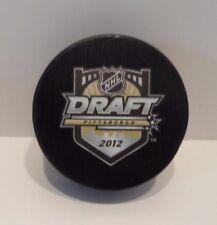 2012 NHL Draft Hockey Puck - BRAND NEW!  Pittsburgh Penguins