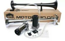 MotoHorn Motorcycle Horn (Chrome or Black) Brand New