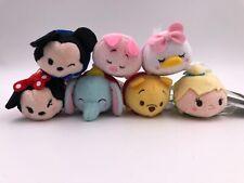 Disney Store Japan Tsum Tsum Land Mini: Lot of 7 (E6)