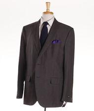 NWT $2995 ERMENEGILDO ZEGNA 'Milano Easy' Linen-Wool-Silk Suit Slim US 46 L