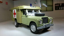 1:43 Scale Model Land Rover Series 2a 3 Marshall Body Ambulance Oxford Cararama