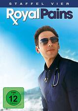4 DVDs * ROYAL PAINS - STAFFEL / SEASON 4 # NEU OVP +