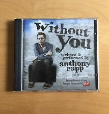Anthony Rapp - Without You (2012) CD RENT / IF/THEN / STAR TREK
