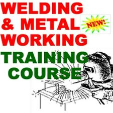 Welding and Metal Working Training Instruction Course Manual CD