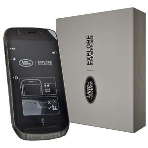 New Land Rover Explore Dual-SIM 64GB Black Factory Unlocked Rugged IP68 4G GSM