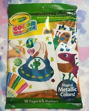 Crayola Color Wonder Xtreme Magical Metallic Color Mess Free Coloring Large Pack