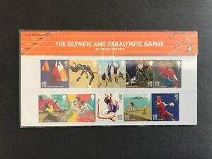 2011 GB Olympic & Paralympic Games Presentation Pack No.458 MNH