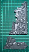 Games Workshop Ophidian Archway - Small Wall #2