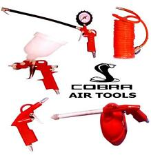 Top Quality Cobra Air Tools 5 Piece Air Hose Paint Spray Gun Tool Kit Compressor