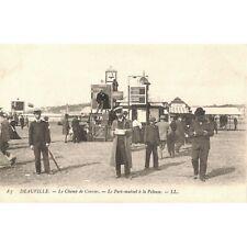 [14] Deauville - Le Champ de Courses. Le Pari mutuel à la Pelouse.