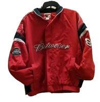 Dale Earnhardt Jr 8 Winners Circle Mens Jacket Pocket Full Zipper 100% Cotton XL