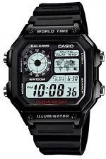 Casio Men's World Time Watch Resin Strap