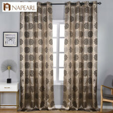 NAPEARL 1 Panel European Classic Curtain Luxury Rustic Living Room Window Drapes