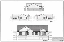 Full Set of Condominium / Duplex building plans 1,470 / 1,248 sq ft