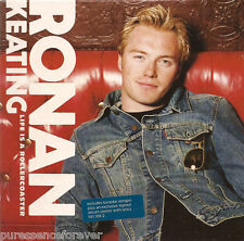 RONAN KEATING - Life Is A Rollercoaster (UK 3 Tk CD Single Pt 2/Poster)