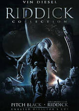 Riddick Collection [Pitch Black / The Chronicles of Riddick / The Chonicles of R