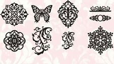 Set 9 Tattered Angels Glimmer Screens Fanciful Stencils