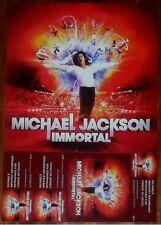 MICHAEL JACKSON Immortal Discontinued Ltd Ed RARE Poster Cirque Du Soleil Xscape
